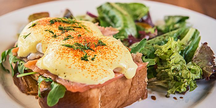 Eggs Benedict from On The Table in Pasir Panjang, Singapore