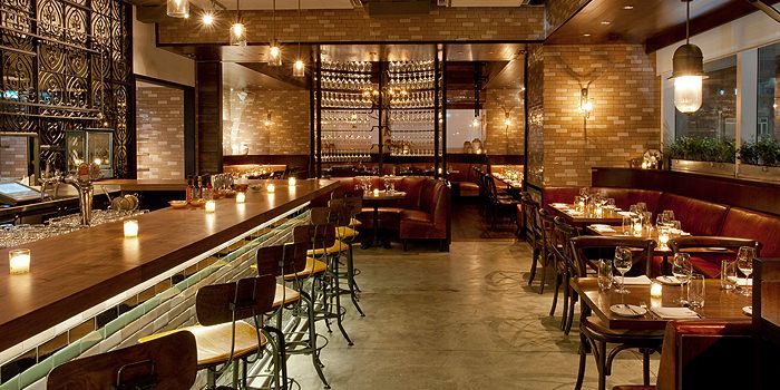 Dining Room of Lily & Bloom, Central, Hong Kong