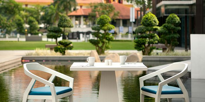 Outdoor Table Setting of 21 on Rajah in Balestier, Singapore