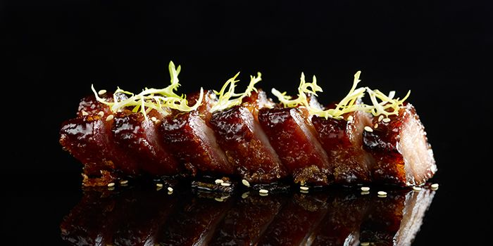 Barbeque Pork from Mitzo Restaurant & Bar in Grand Park Orchard along Orchard Road, Singapore
