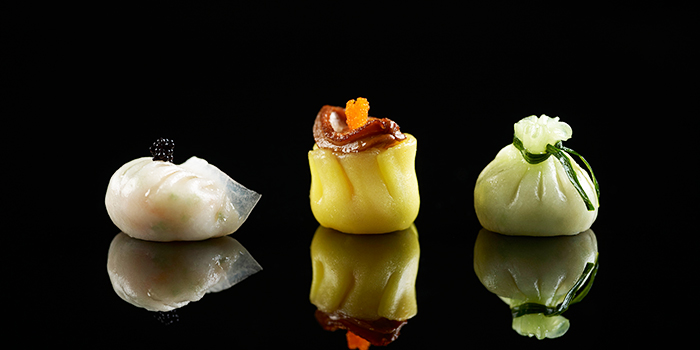 Dim Sum from Mitzo Restaurant & Bar in Grand Park Orchard along Orchard Road, Singapore