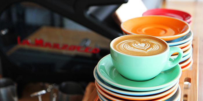 Coffee from Habitat Coffee on Upper Thomson Road in Singapore
