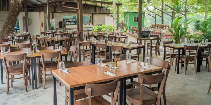 Dining Area in Picotin Express in Bukit Timah, Singapore