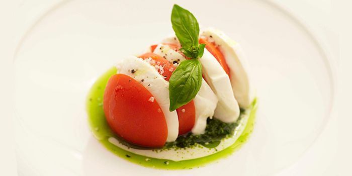 Caprese Salad from Senso Ristorante & Bar on Club Street in Tanjong Pagar, Singapore