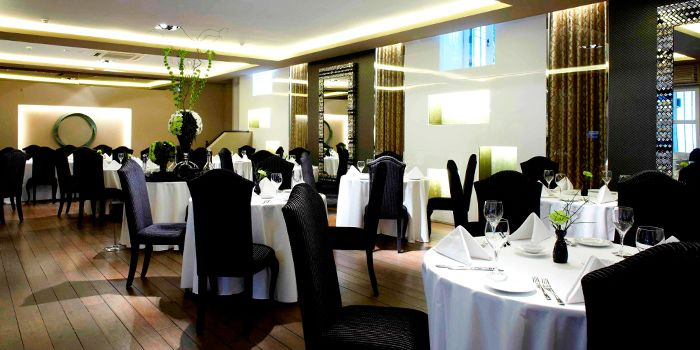 Main Dining Room in Senso Ristorante & Bar on Club Street in Tanjong Pagar, Singapore