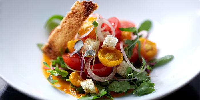 Salad with assorted Tomatoes, G7 Private Dining, Central, Hong Kong