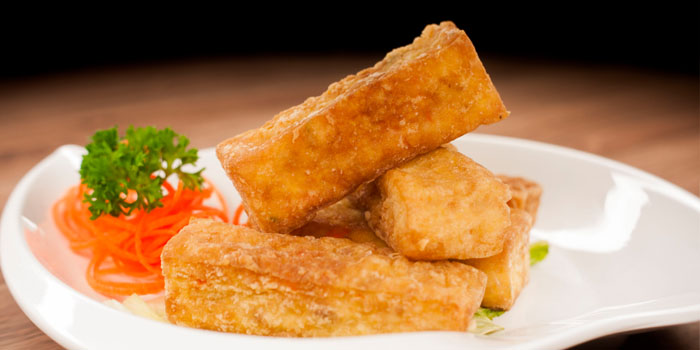 Fried Tofu from Uncle Leong Seafood (Punggol) in Punggol, Singapore