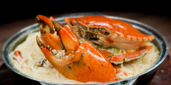 Crab Bee Hoon from Uncle Leong Seafood (Punggol) in Punggol, Singapore