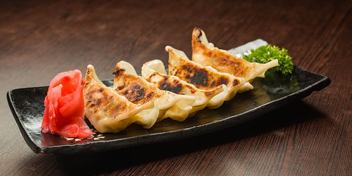 Gyoza from Shin Minori Japanese Restaurant @ UE Square in Robertson Quay, Singapore