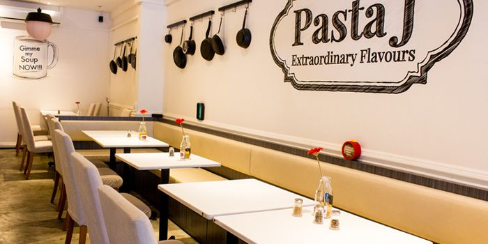 Interior of Pasta J in Thomson, Singapore