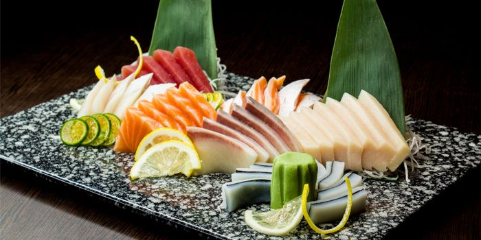 Sashimi Platter from Shin Minori Japanese Restaurant in Robertson Quay, Singapore