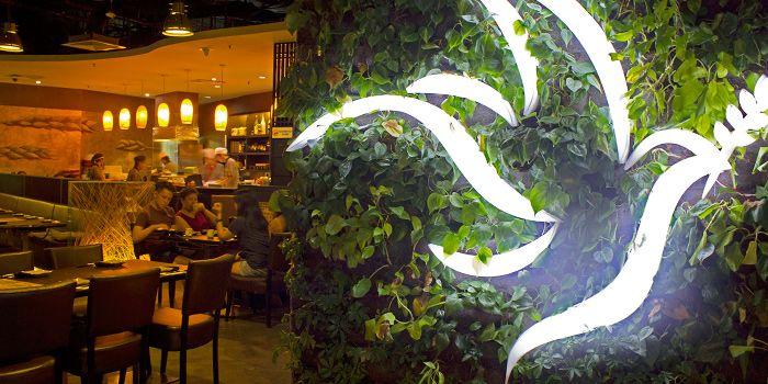 Entrance of Shin Minori Japanese Restaurant in Robertson Quay, Singapore