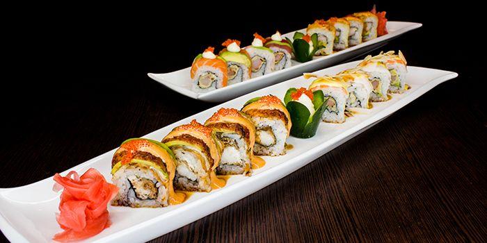Sushi Platter from Shin Minori Japanese Restaurant in Robertson Quay, Singapore