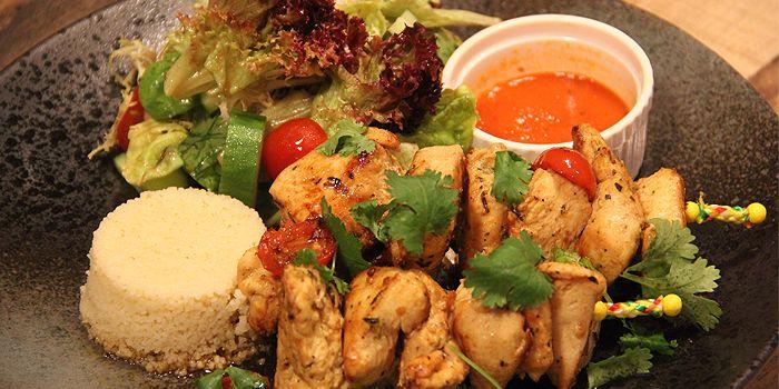 Chicken Kebab, Aberdeen Street, Central, Hong Kong