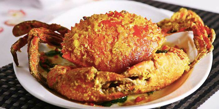 Salted Egg Crabs from Mellben Seafood (Toa Payoh) in Toa Payoh, Singapore