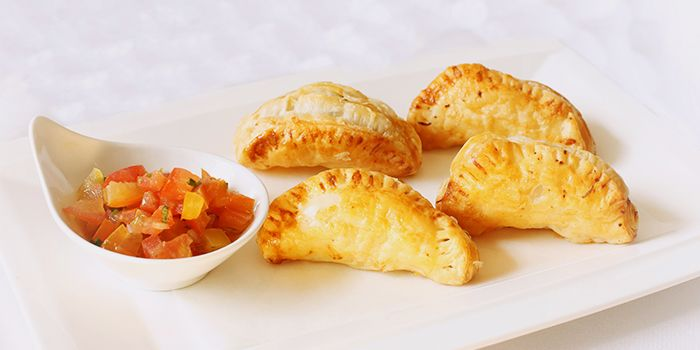Beef Empanadas from Lobby Lounge & Bar at Holiday Inn Singapore Orchard City Centre in Orchard, Singapore