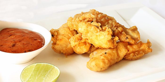 Chicken Fingers from Lobby Lounge & Bar at Holiday Inn Singapore Orchard City Centre in Orchard, Singapore