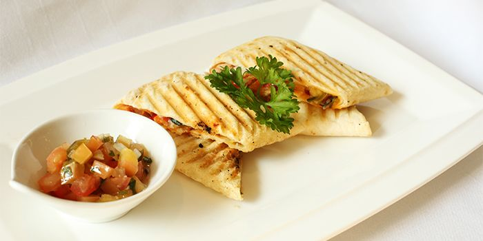 Chicken Quesadilla from Lobby Lounge & Bar at Holiday Inn Singapore Orchard City Centre in Orchard, Singapore
