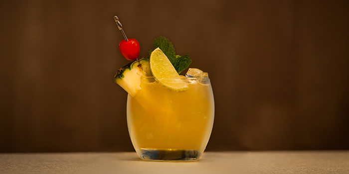 Pina Colada from Lobby Lounge & Bar at Holiday Inn Singapore Orchard City Centre in Orchard, Singapore