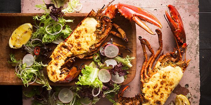 Whole Maine Lobster from FYR Cycene Ond Drinc in Raffles Place, Singapore