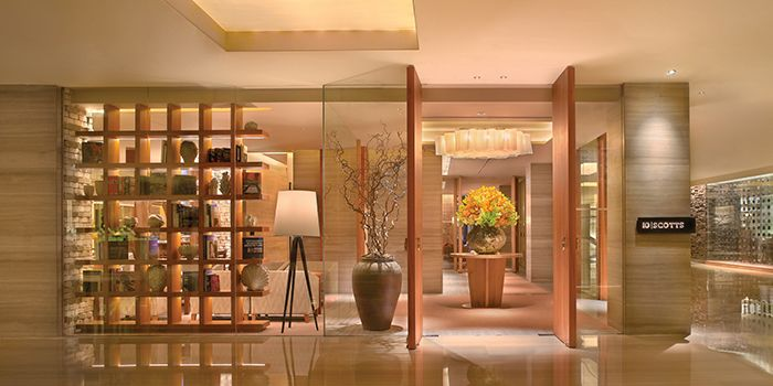 Entrance of 10 SCOTTS in Grand Hyatt Singapore in Orchard, Singapore