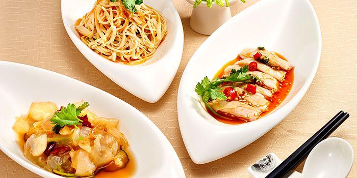 Food Spread from 9Goubuli at Marina Bay Sands in Marina Bay, Singapore