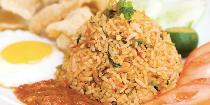 Nasi Goreng from Spize in River Valley, Singapore