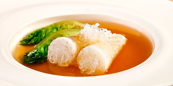 Double Boiled Bamboo Pith with Birdnest from 9Goubuli at Marina Bay Sands in Marina Bay, Singapore