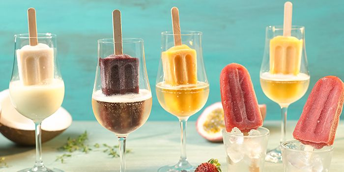 Boozy Pops from Bar Canary in Grand Park Hotel in Orchard, Singapore