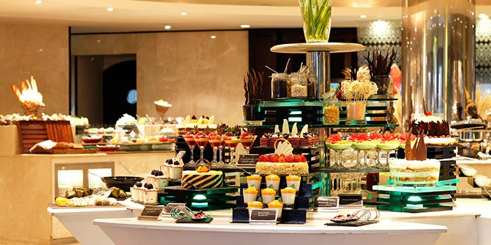 Buffet Spread at The Pavilion in Dusit Thani Bangkok in Silom, Bangkok