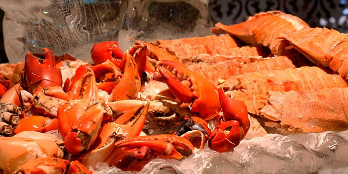 Crab Buffet from The Pavilion in Dusit Thani Bangkok in Silom, Bangkok