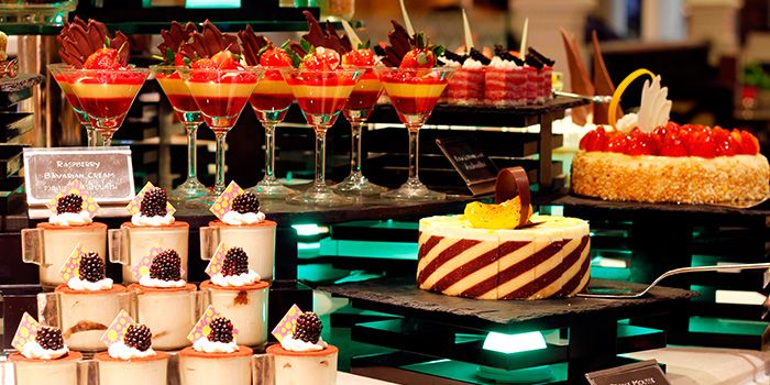 Dessert Spread at The Pavilion in Dusit Thani Bangkok in Silom, Bangkok