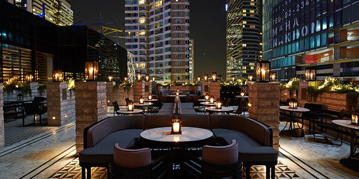 Exterior of VOGUE Lounge in Sathorn, Bangkok