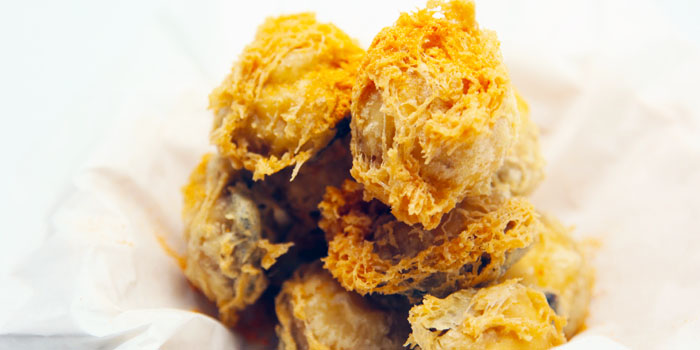 Fried Oysters from Dancing Crab in Orchard, Singapore