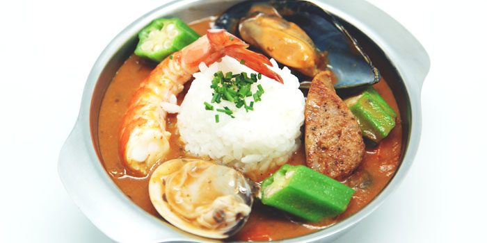 Gumbo from Dancing Crab in Orchard, Singapore