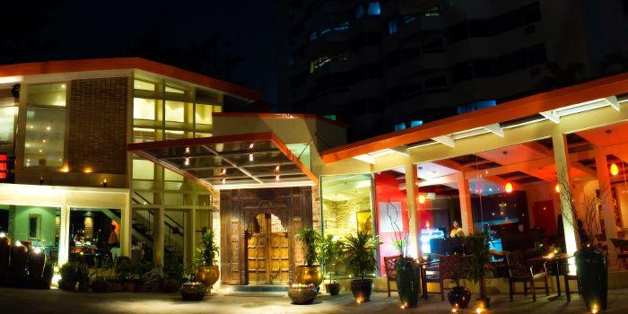 Exterior of Indus Contemporary Indian Dining in Upper Sukhumvit, Bangkok