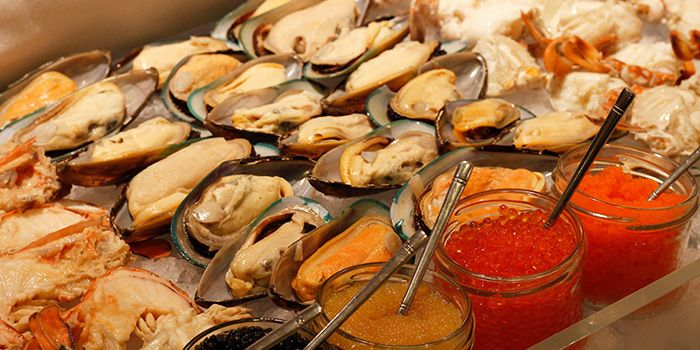 Seafood Spread at The Pavilion in Dusit Thani Bangkok in Silom, Bangkok
