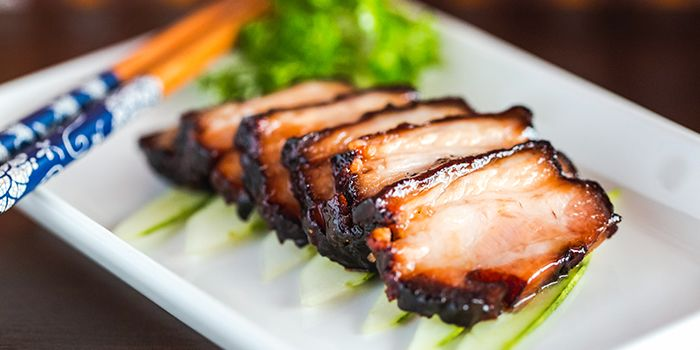 Roast Pork from Sum Yi Tai (Tapas Bar) in Raffles Place, Singapore