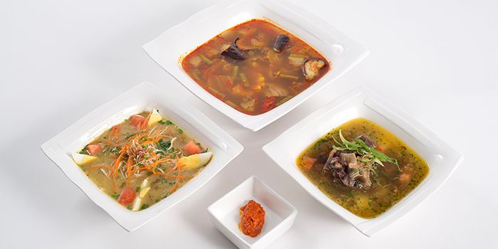 Soups from Bumbu in Jing
