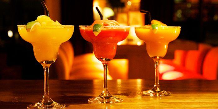 Margaritas from MAYA in Jing