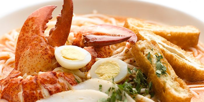 Lobster Laksa from Chatterbox at Mandarin Orchard Singapore in Orchard, Singapore