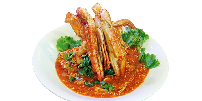 Crabs from JinJi Teochew Steamboat Restaurant (Outram) in Outram, Singapore
