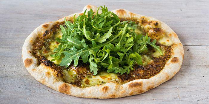 Pistachio Pesto Pizza from Extra Virgin Pizza (Asia Square) in Raffles Place, Singapore