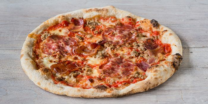 Spotted Pig Pizza from Extra Virgin Pizza (Asia Square) in Raffles Place, Singapore