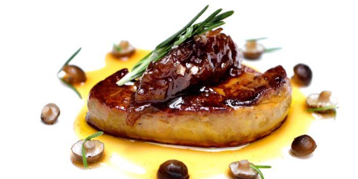 Foie Gras from ALBA 1836 Italian Restaurant in Duxton, Singapore