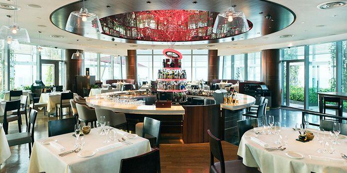 Main Bar in Zafferano in Collyer Quay, Singapore