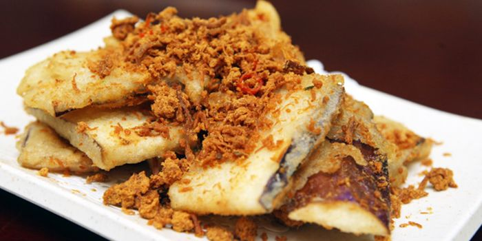 Pork Rib and Pork Floss from JinJi Teochew Steamboat Restaurant (Outram) in Outram, Singapore