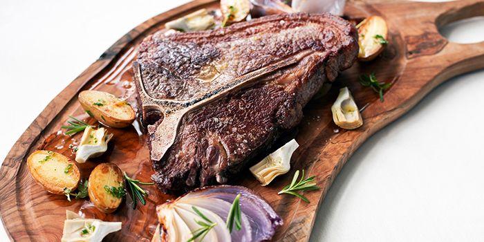 T-Bone Steak from Zafferano in Collyer Quay, Singapore