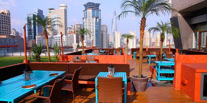 Terrace Seating of MAYITA in Huangpu, Shanghai
