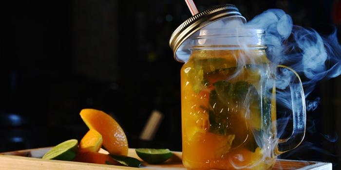 Applefoamentini from Indique Gastrobar & Restaurant on Sukhumvit 22